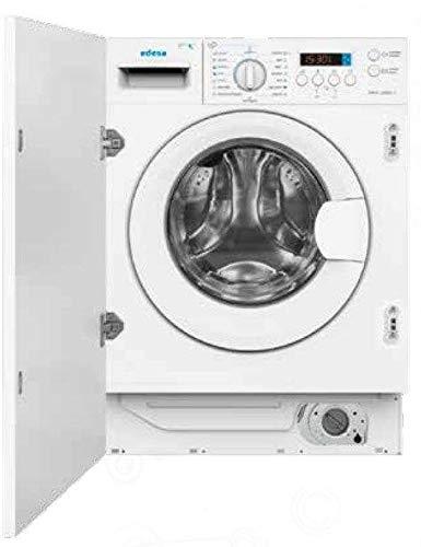 Edesa EWS-1480-I Carga frontal Integrado Blanco A - Lavadora-secadora (Carga frontal, Integrado, Blanco, Izquierda, LED, Acero inoxidable)