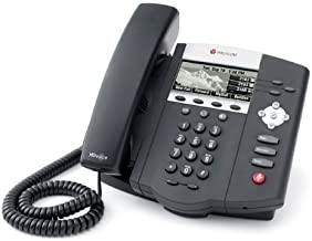 Polycom SoundPoint IP 450 with Power Supply (Renewed)
