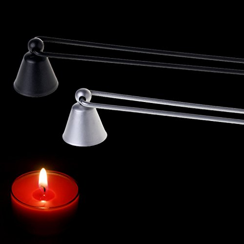 suoryisrty Candle Candles Snuffer Feuerlöscher Extinguish Iron Bell Shaped Trimmer Tool Neu