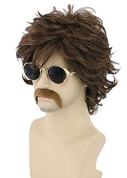 Best 70s mens wig Reviews