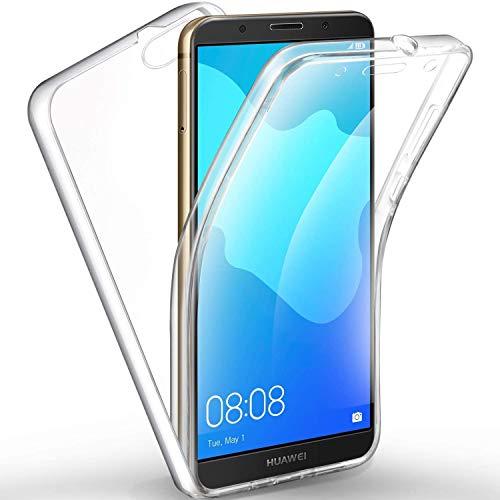 NewTop Crystal Case Cover Huawei Y5 2018-7s Trasparente