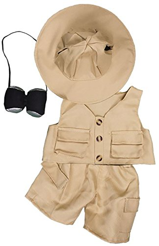 Safari Outfit Teddy Bear Clothes Fits Most 14