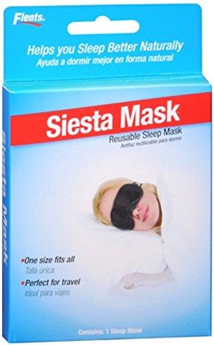 Flents Siesta Mask Reusable Sleep Mask #404 1 Each (Pack of 5)