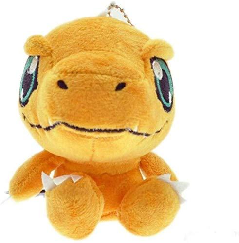 Peluche de anime Digimon Gabumon colgante de mochila suave de peluche de 12 cm chuangze