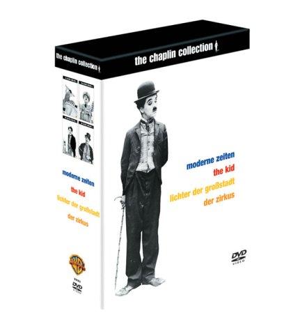 The Chaplin Collection 1 (Moderne Zeiten, The Kid, Lichter der Großstadt, Der Zirkus) [8 DVDs]