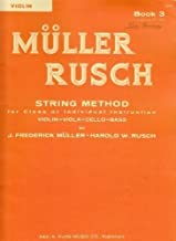 Muller/Rusch - String Method, Book 3 - Violin - Kjos Music Co.