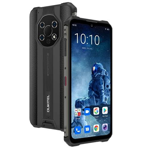 WP13 Dual 5G IP68 Impermeable DIP68 medidor de Temperatura del Agua infrarrojo áspero teléfono Inteligente 8GB + 128GB en Todo el Mundo 6.52 '5280mAh teléfono móvil (Negro)