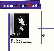 真実の天才 ヨーゼフ・ハシッドの芸術 HMV正規録音全集 Immortal Josef Hassid / The Complete Published Recordings Analog