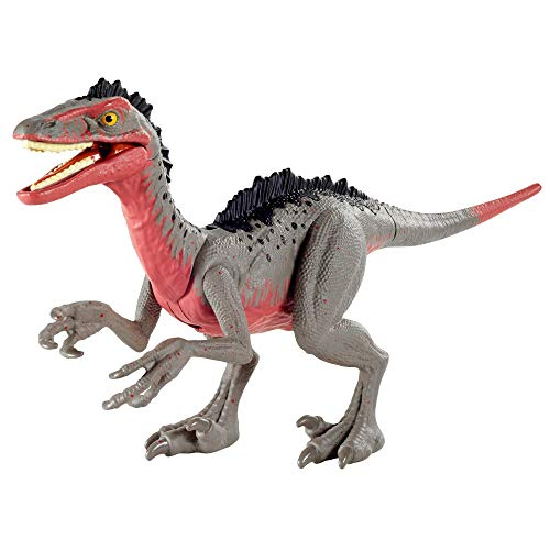 Mattel GVF32 Attack Pack de Jurassic World - Dinosaurio Troodon de juguete, a partir de 4 años