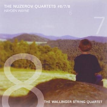 The Nuzerov Quartets, No. 6, 7 & 8
