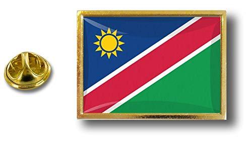 Akacha pin flaggenpin flaggen Button pins anstecker Anstecknadel sammler Namibia