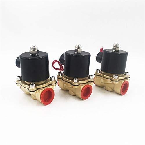 SHENYUAN Serie Industrial 1 unids 110V / 220V CA 1/2'Tipo Normalmente Cerrado Válvula solenoide electromagnética DN15 N/C válvula neumática 12V / 24V DC para Aire de Aceite de Agua