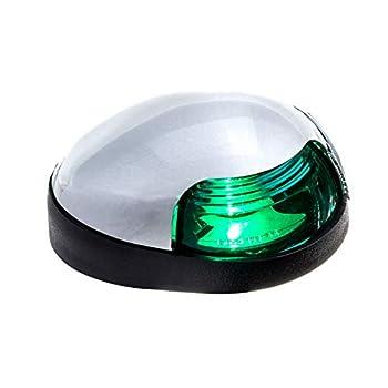 Attwood 3153G7 Quasar Deck Mount Green Sidelight