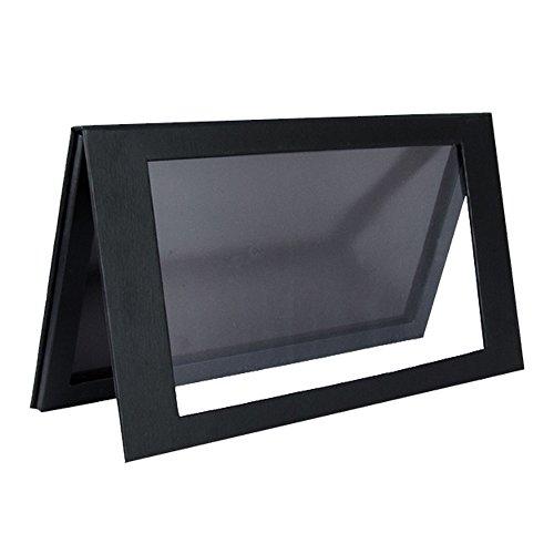 Coosei Empty Storage Palette Box Magnetic Eyeshadow Pan Matte Black Large Pallet BML001