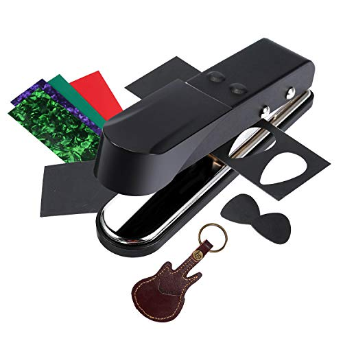 Asmuse Plectrum Pick Punch Maker Cortador Perforadora