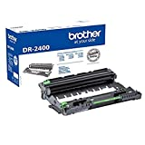 Brother DR2400 - Unidad de tambor de repuesto, 12000 páginas de autonomía, sin cartucho de tóner,...