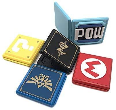 Caja rígida 12 en 1 para interruptor, tarjeta de juego, protector a prueba de golpes, estuche de almacenamiento para Nintendo Switch NS NX