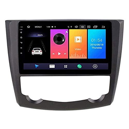 LWYJ Camión Automóviles GPS Mapa Transmitida Navegación Stereo Touchscreen Media Player Sat Nav para Renault Kadjar 2015-2019 Sistema con Video Bluetooth Mirror Link,4 Core 4g+WiFi: 1+32gb