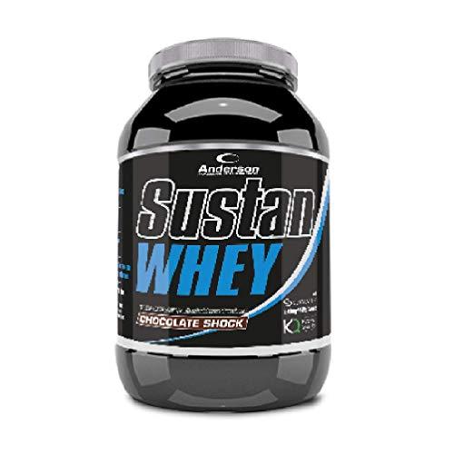 Sustan Whey Anderson 800g NEW (Proteine Altissima qualità) (Chocolate Shock)