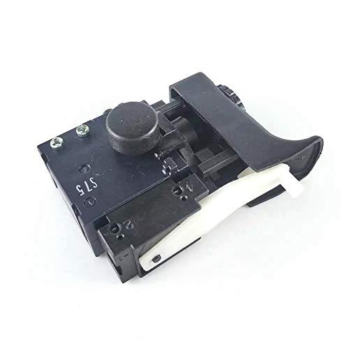 Andylies Interruptor de Gatillo para Hitachi 322854 DV20VB2 DV18V D13VH D13VB3 D10VJ C2098493 Repuestos de Taladro de Martillo