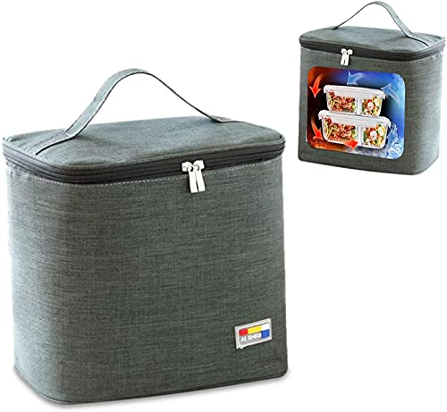 Bolsa isotérmica plegable para picnic, bolsa isotérmica, bolsa isotérmica, bolsa de pícnic, bolsa de almuerzo para hombre