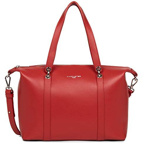 Große Handtasche Gr. Einheitsgröße, Rot/Puder