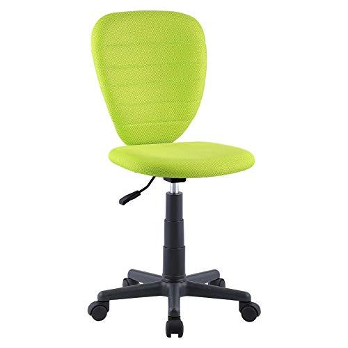 CARO-Möbel Kinderdrehstuhl Discovery Schreibtischstuhl Drehstuhl in grün, höhenverstellbar