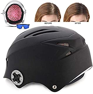 Hair Growth Helmet, 64 Diodes Medical Grade Hair Regrow Cap, Promotes Hair Regrowth, Infrared Treatment Hair Growth Hat for Solve Hair Loss Problems