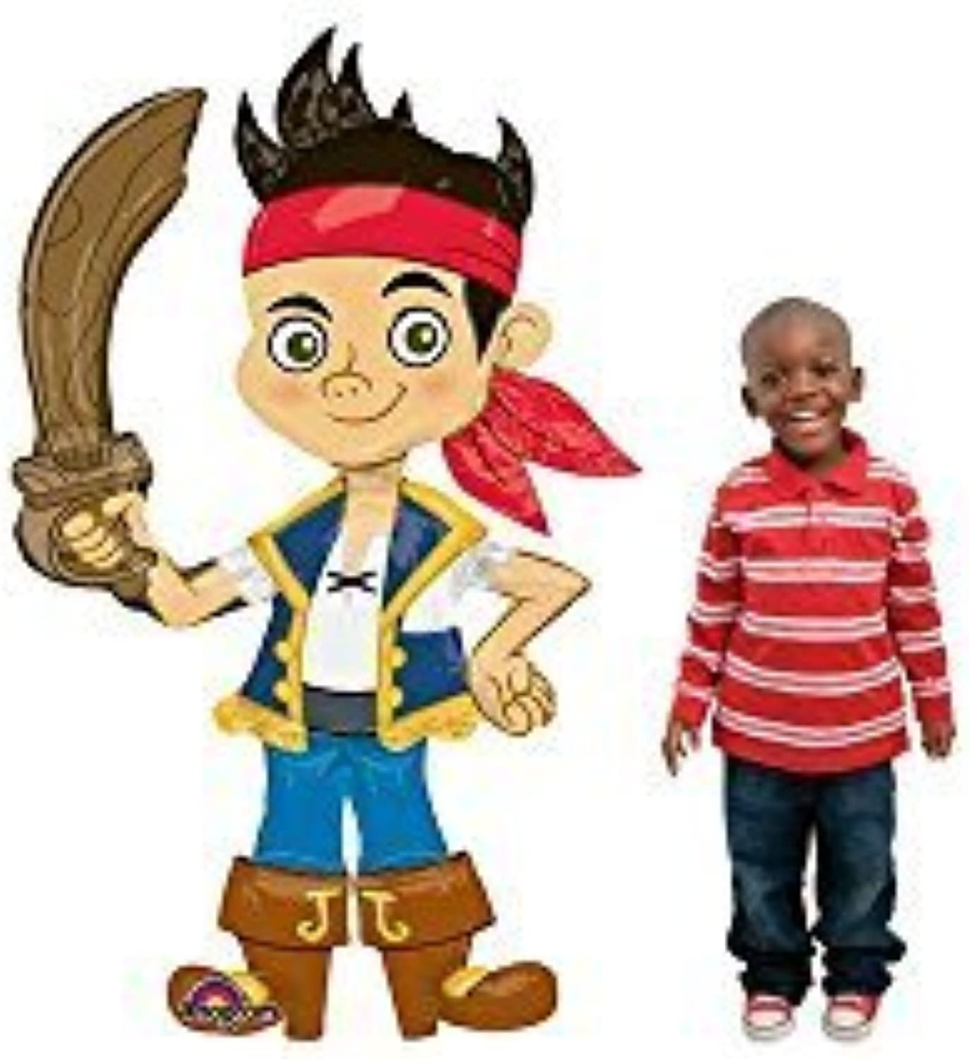 Jack And The Neverland Pirates 75& 34; Airwalker Balloon (Each) - Party Supplies by Mayflower Products
