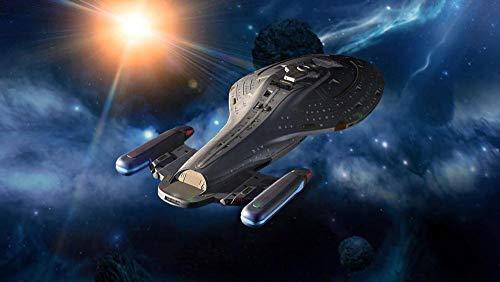 Star Trek Voyager Puzzles 1000 Pedazos, Niños Cognición, Juguetes Adultos, Juegos Rompecabezas De Inteligencia De Madera,Descompresión, 75 * 50 Cm