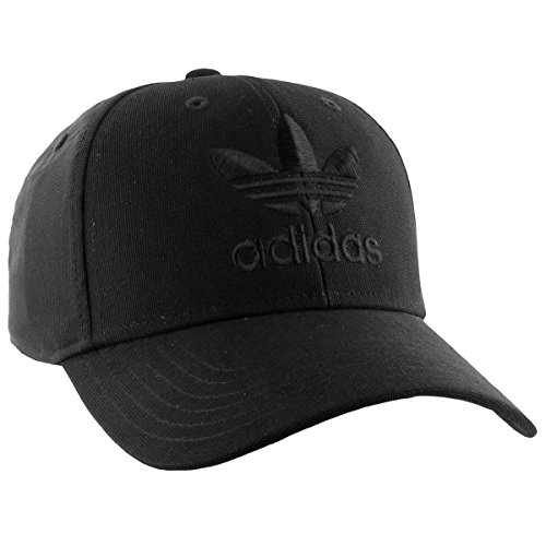 adidas Men's Originals Precurve Snapback Cap, Black, One Size