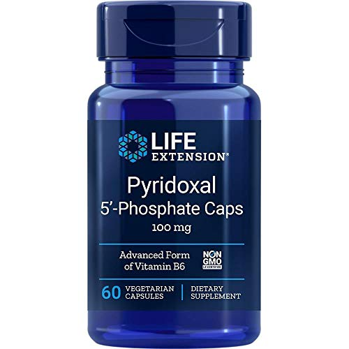 Life Extension Pyridoxal 5'-Phosphate Caps, 100mg, 60 vcaps
