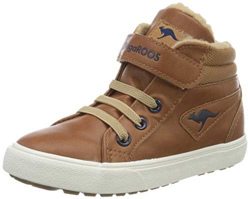 KangaROOS Baby-Jungen KAVU III Sneaker, Saddle Brown/Sand, 26 EU