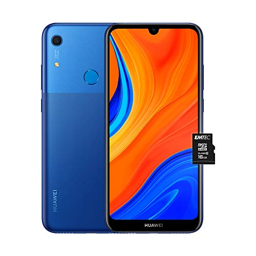 HUAWEI Y6s e MicroSDHC 16 GB Class 10, Smartphone con 32 GB, Display 6.09' HD+, Processore Quad Core, Orchid Blue (Versione Italiana)