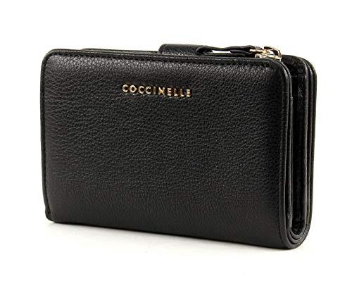 Coccinelle Metallic Soft portemonnee leer 14 cm