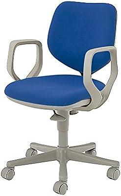 オカムラ オフィスチェア CG-E 固定肘 ナイロンキャスター ブルー CG24GZ-FM36