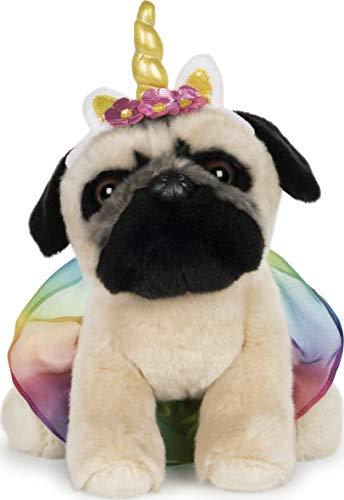 "GUND Doug The Pug Unicorn Tutu Dog Stuffed Animal Plush, 9"""