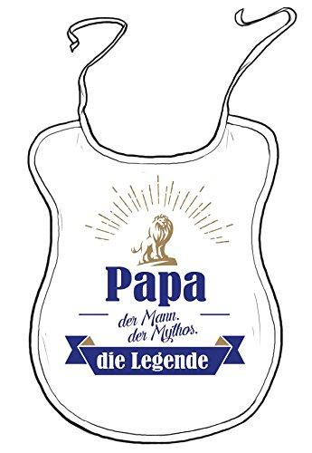 die stadtmeister Latz mit Wunschnamen für Lebende Legenden/z.B. Papa (BZW. Wunschname): der Mann, der Mythos - die Legende