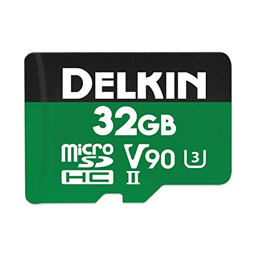 Delkin Devices 32GB Power microSDHC UHS-II (U3/V90) Memory Card