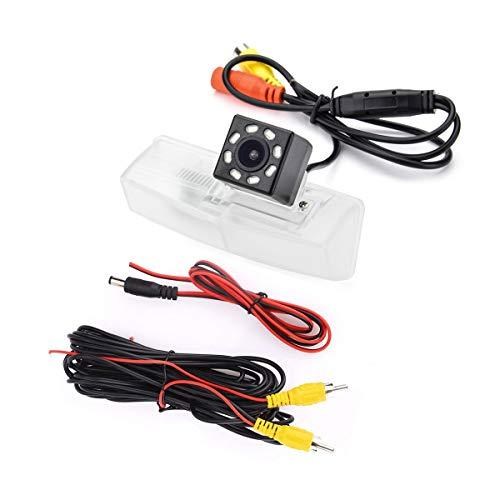 eHANGO - Staffa per telecamera posteriore per auto per Lexus HS250h/Lexus CT200h/Toyota Matrix/Toyota Prius/Toyota RAV4/Toyota Venza (8 LED)
