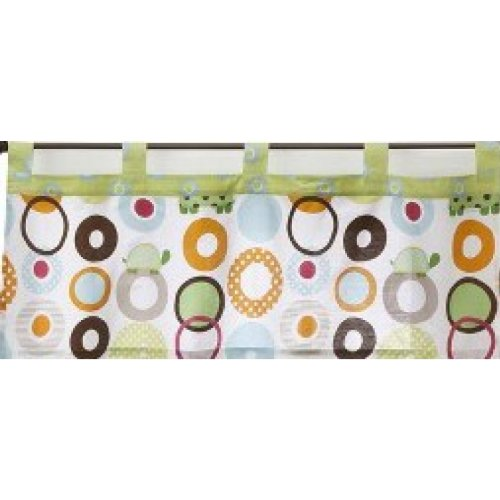1 Free Shipping Mail order New X Geo Turtle Sumersault by Window Valance