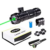 1. Pinty Hunting Rifle Green Laser Sight Dot Scope Adjustable with Mounts