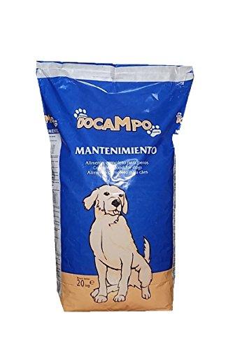 DOCAMPO Mantenimiento 20KG Saco pienso Comida para Perros Adultos