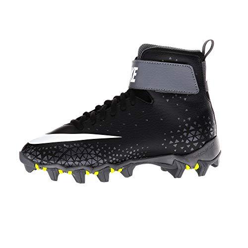 Nike Force Savage Shark Football Guantes–Negro