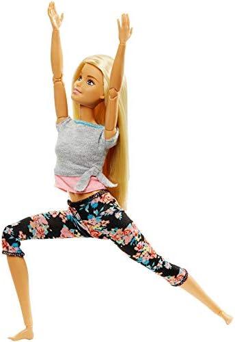 Barbie yoga doll