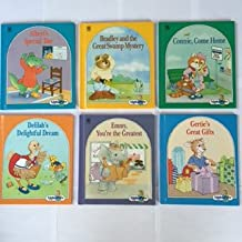 AlphaPets (Set of 6 Books) Albert's Special Day -- Bradley and the Great Swamp Mystery -- Connie, Come Home -- Delilah's Delightful Dream -- Emmy, You're the Greatest -- Gertie's Great Gifts, By Ruth Lerner Perle