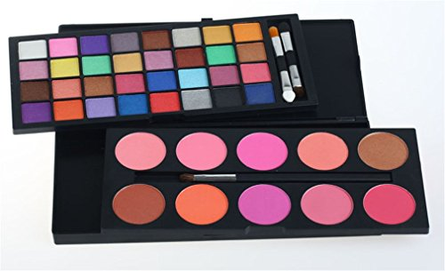Pure Vie® 42 Colores Sombra De Ojos Corrector Rubor Paleta de Maquillaje Cosmética - Perfecto para Sso Profesional y Diario