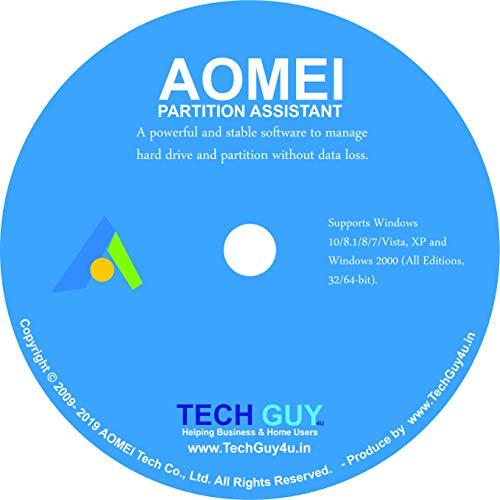 Aomei Partition Assistant Professional Edition - Offizieller Partner von AOMEI (Lieferung elektronisch)