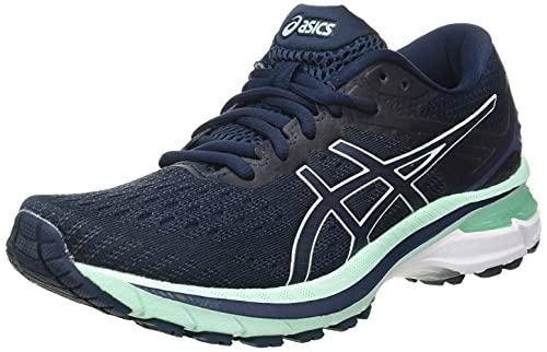 Asics GT-2000 9, Zapatillas para Correr Mujer, French Blue/Fresh Ice, 39.5 EU