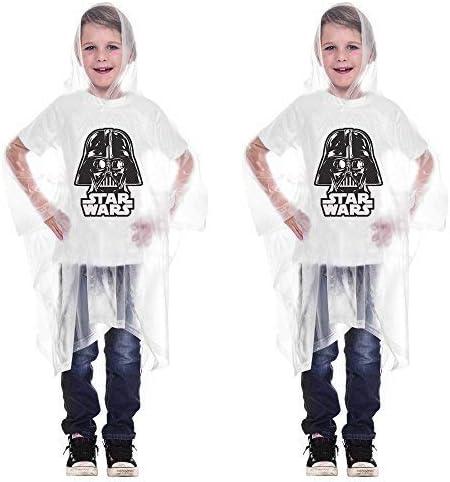 Disney 2 Pack - Star Wars Darth Vader Hooded Rain Poncho Youth (Youth)